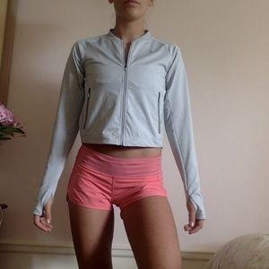 LULU LEMON Vibrant Pink Athletic Shorts